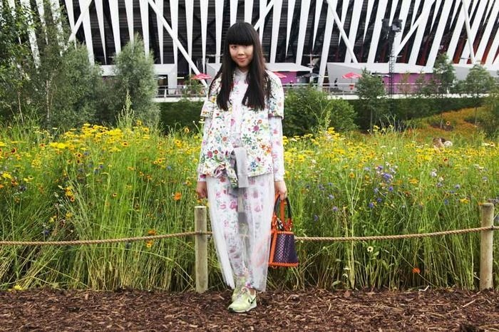 Fashion blogger Susie Bubble wearing LES