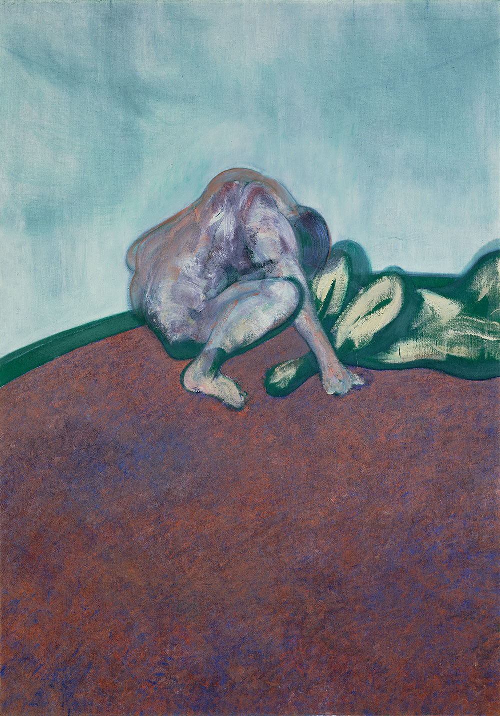 Francis Bacon, <em>Two Figures in a Room</em>, 1959. Courtesy of Sainsbury Collection
