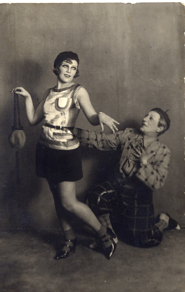 Photograph of rehearsals of <em>The Bolt</em>, 1931, Courtesy of GRAD and St Petersburg State Museum of Theatre and Music