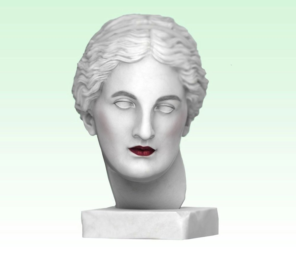 Make up trends on ancient statues