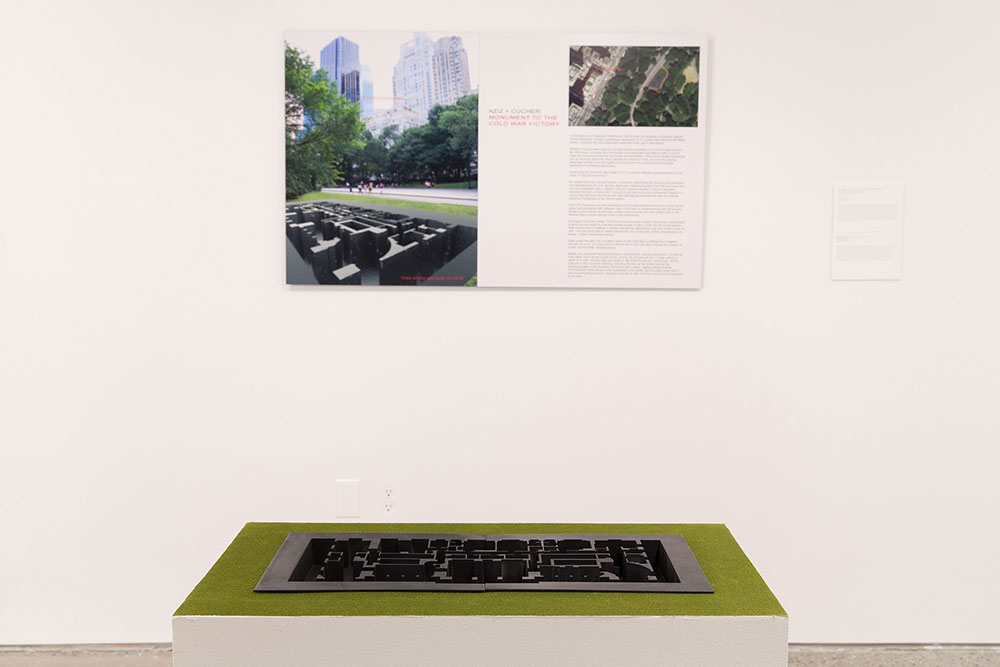 Aziz + Cucher, A Monument to the Cold War (15 CPW), 2014