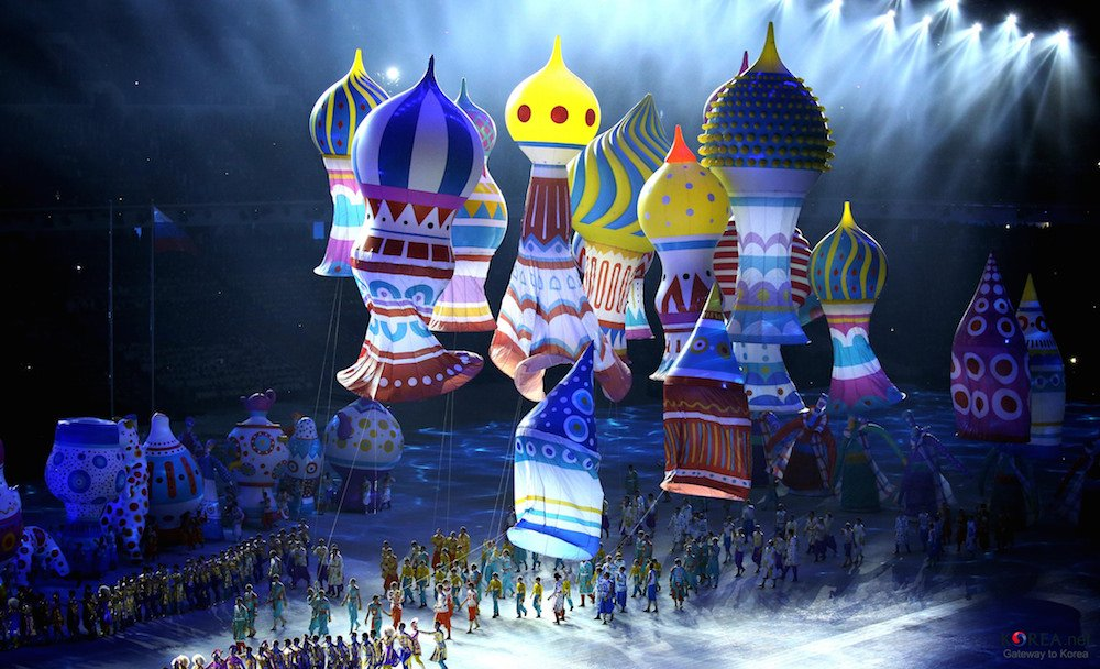 Sochi Winter Olympics 2014 Opening Ceremony (Photo: Republic of Korea under a CC licence)