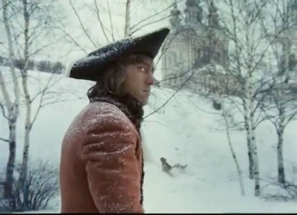 Vladimir Vysotsky as Gannibal in Aleksandr Mitta's How Tsar Peter the Great Married Off His Moor (1976)
