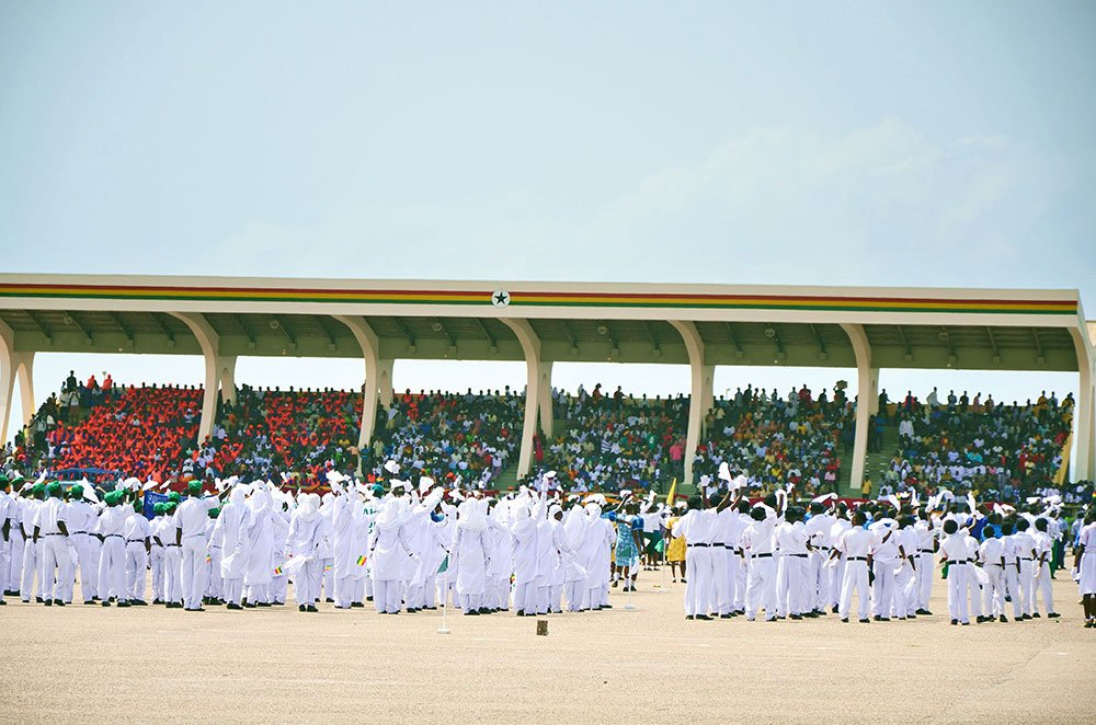 54th anniversary of Ghanaian independence on Independence Square, 2011 Image: Ben Sutherland