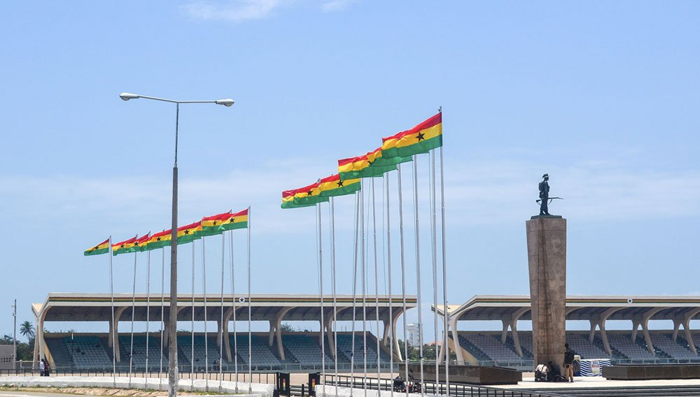 Independence Square, Accra. Image: Jbdodane under a CC licence
