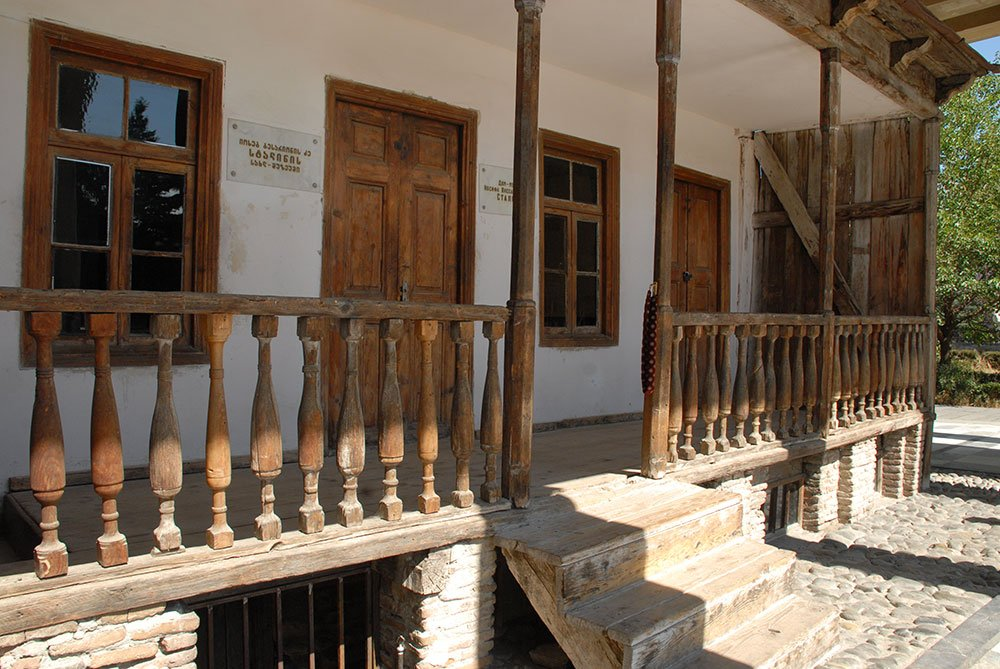 Stalin's family rented the one room on the left, in which he was born in 1878. Image: Guram Tsibakhashvili