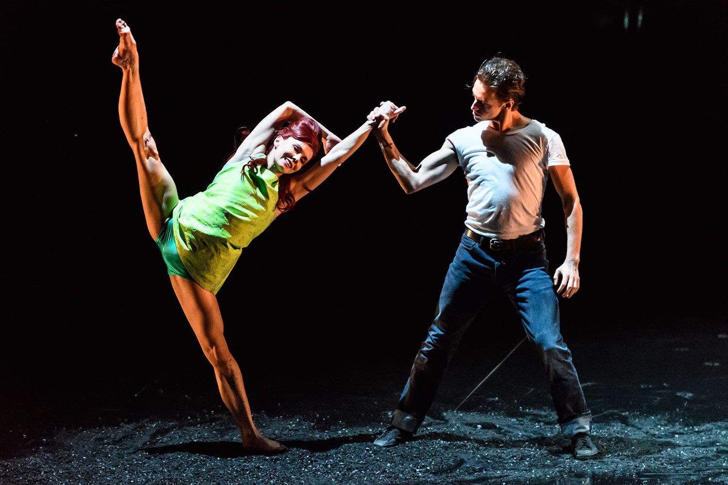 Natalia Osipova and Sergei Polunin performing at Sadlers Wells in 2016. Image: Bill Cooper