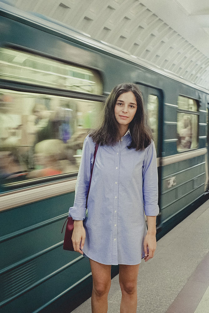 Metro Girls These Inspiring Moscow Creatives Are Going