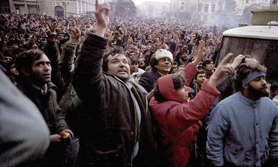 1989 Romanian revolution. Image: Denoel Paris under a CC licence