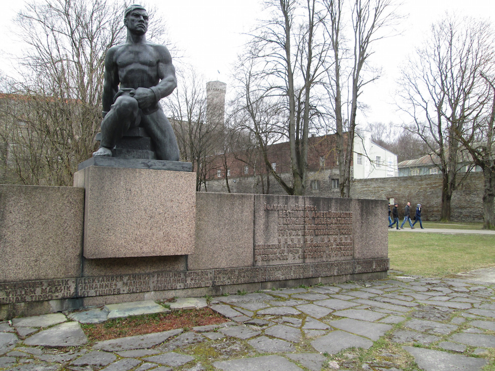Tallinn's Monument to Workers and Unionists Killed in the 1919. Image: Owen Hatherley