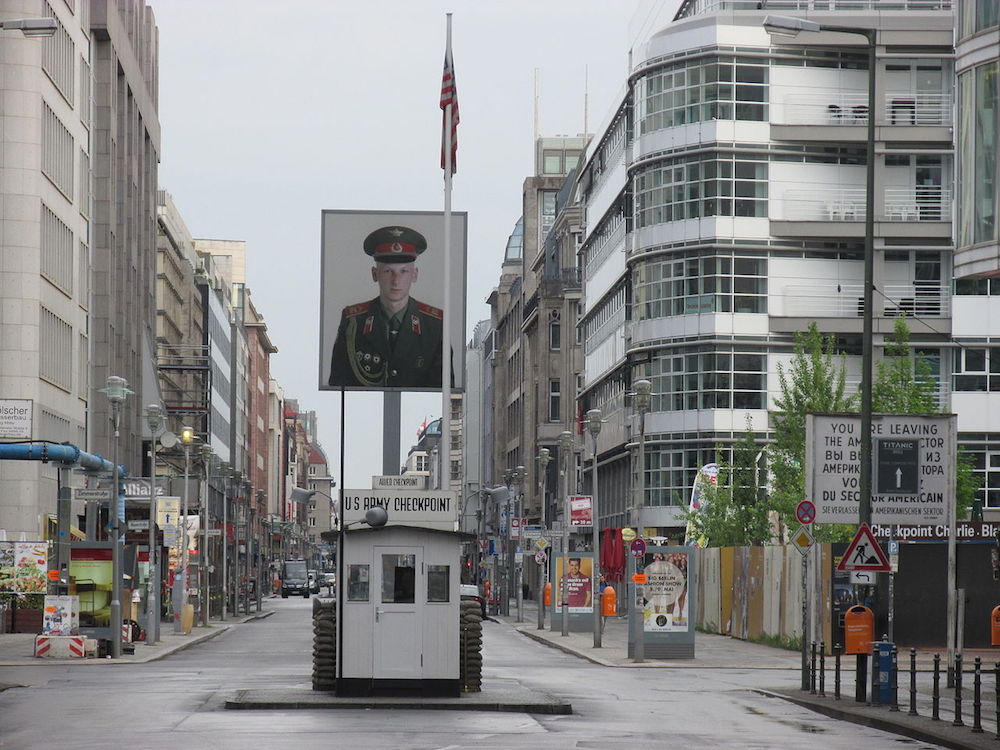 Checkpoint Charlie. Image: Orderinchaos under a CC licence