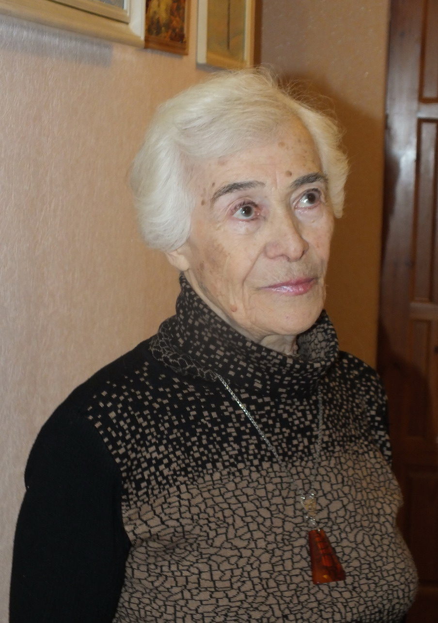 Bella Markaryan, who was a five-year-old child in Stalingrad when the battle began
