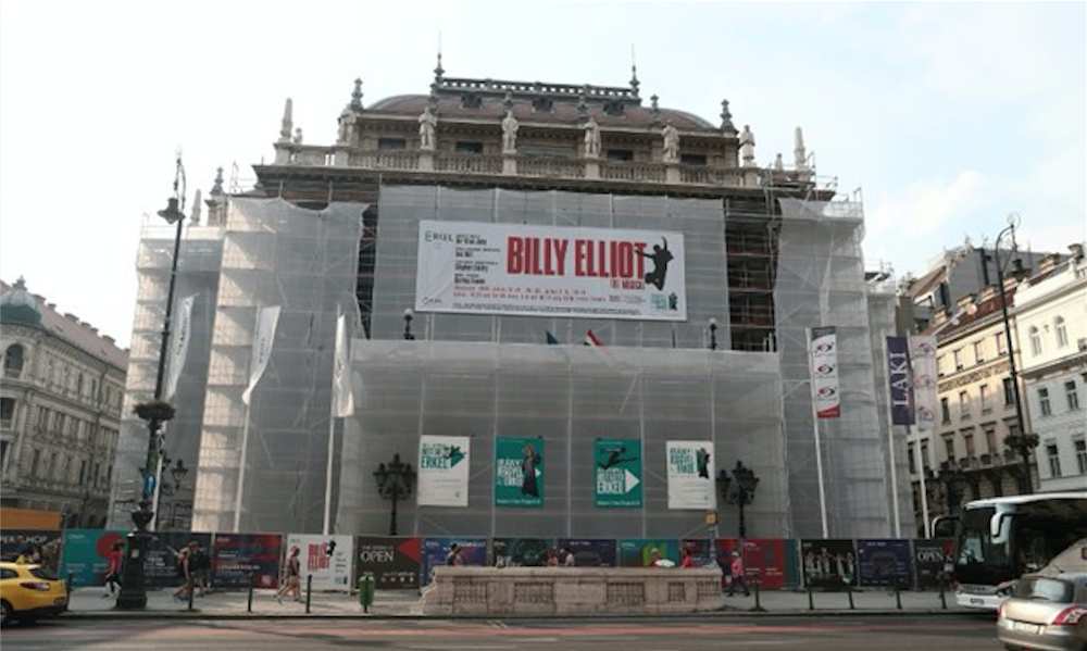 The National Opera House pulled a run of the musical Billy Elliot after critics claimed that the show could turn children gay. Image: Egypt Today