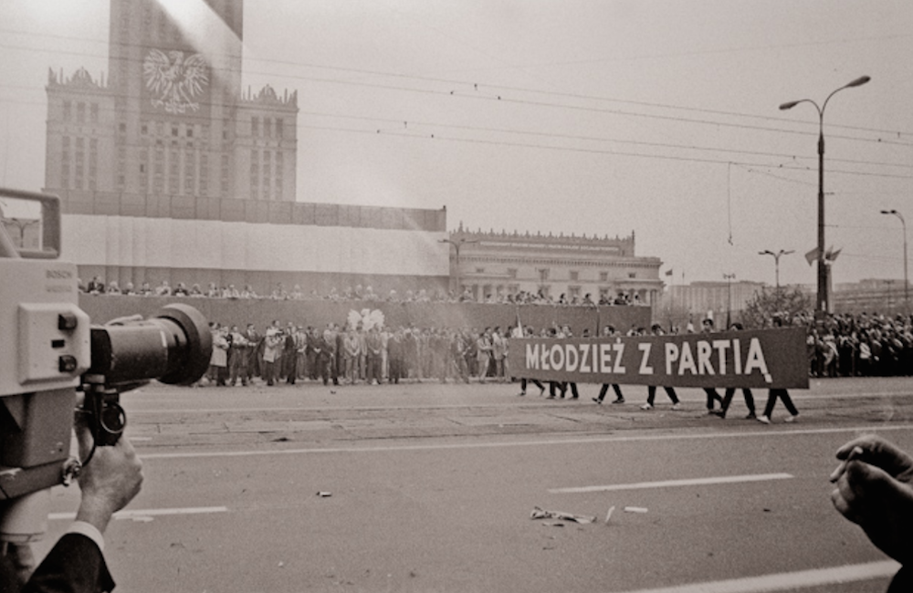 Parade in Warsaw, 1980