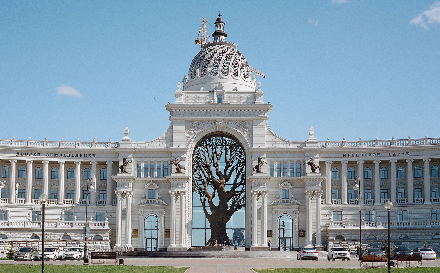Kazan: completed reconstruction of the geological museum 84