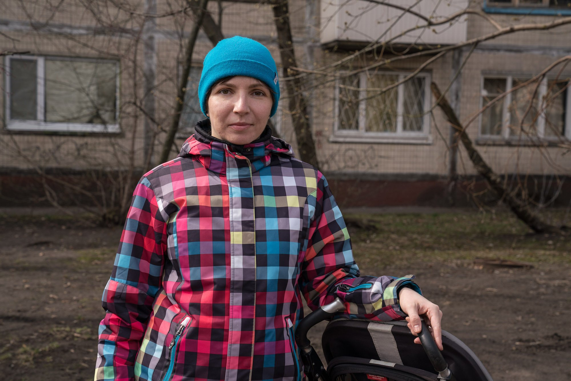 Leisia, 32, is a marketing manager who lives in a neighbouring Krushchevka with her husband and young son