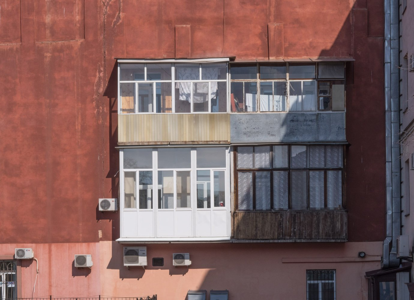 Castle in the clouds: celebrating the eclectic, DIY designs of Ukraine's status symbol balconies