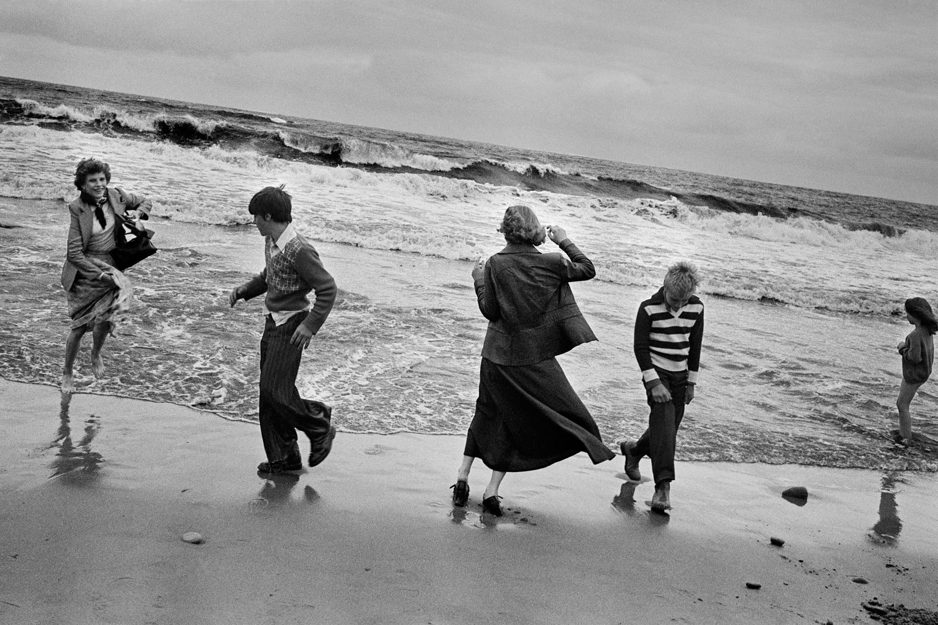 From By The Sea by Marketa Luskacová, pub. by RRB Photobooks