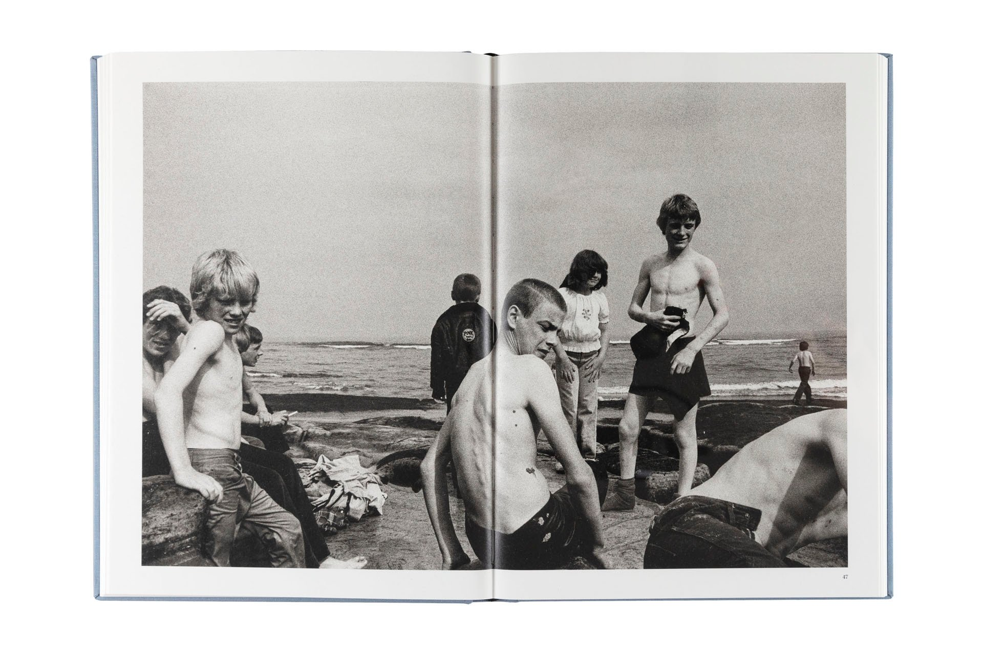 By The Sea by Marketa Luskacová, pub. by RRB Photobooks