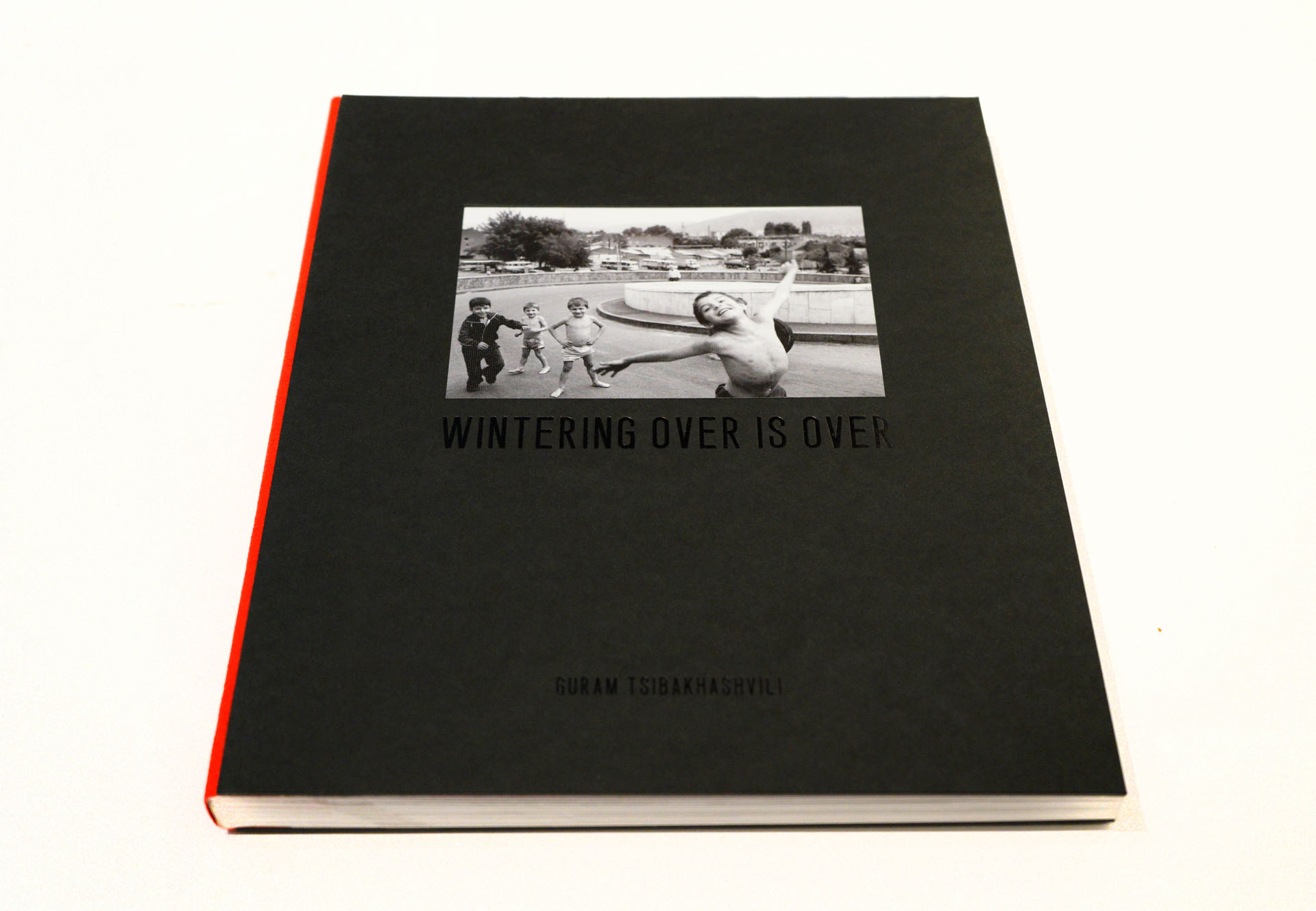 Wintering Over newspaper by by Guram Tsibakhashvili, pub. by INDIGO