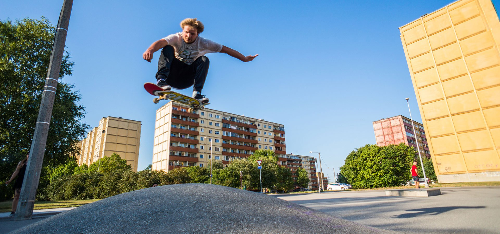 Meet the architect turning Estonia into a skateboarder's paradise