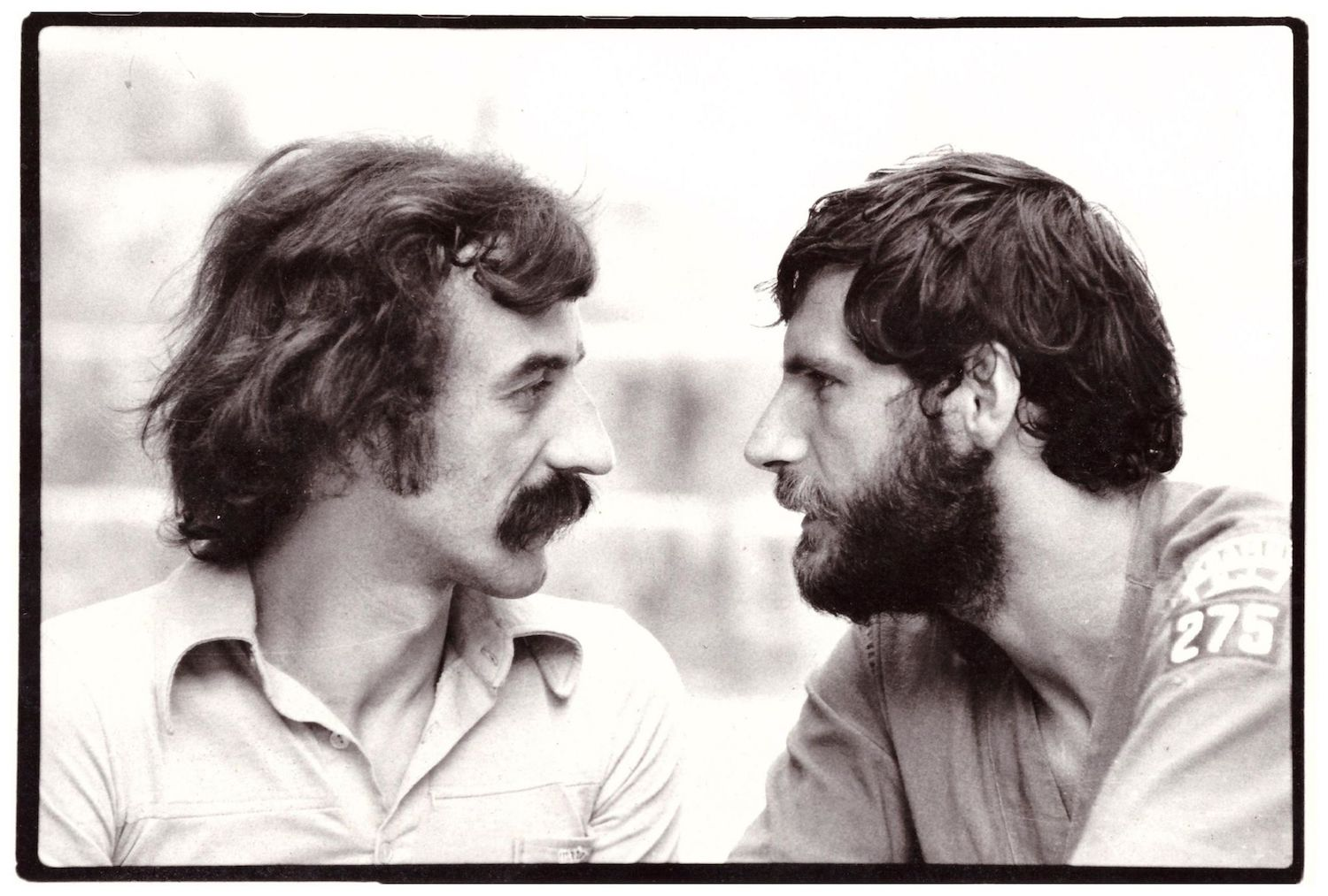 Ristić and KPGT co-founder Rade Šerbedžija in the late 1970s