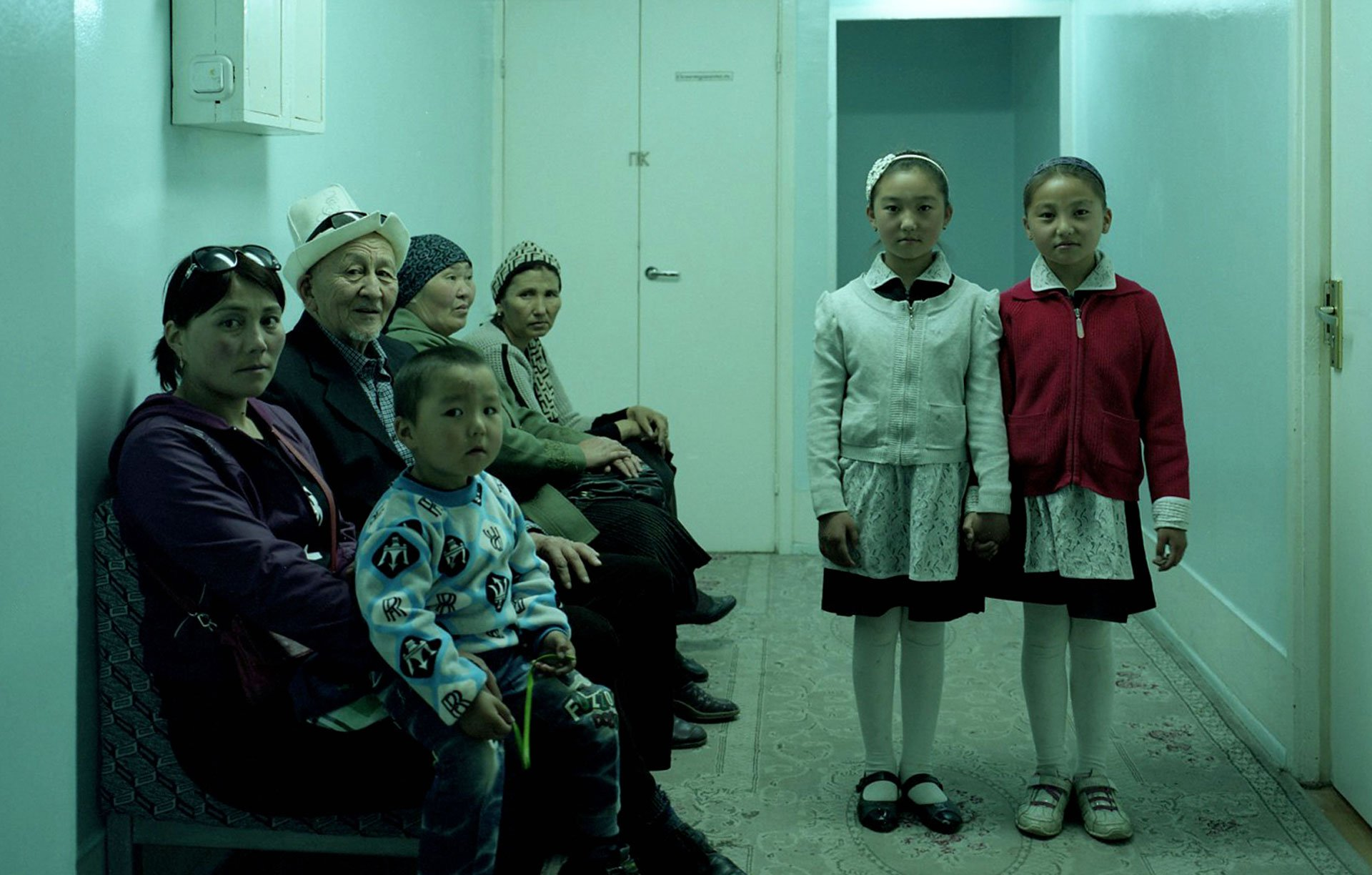 This eerie scene from a Kyrgyz sanatorium conjures the disquiet of The Shining