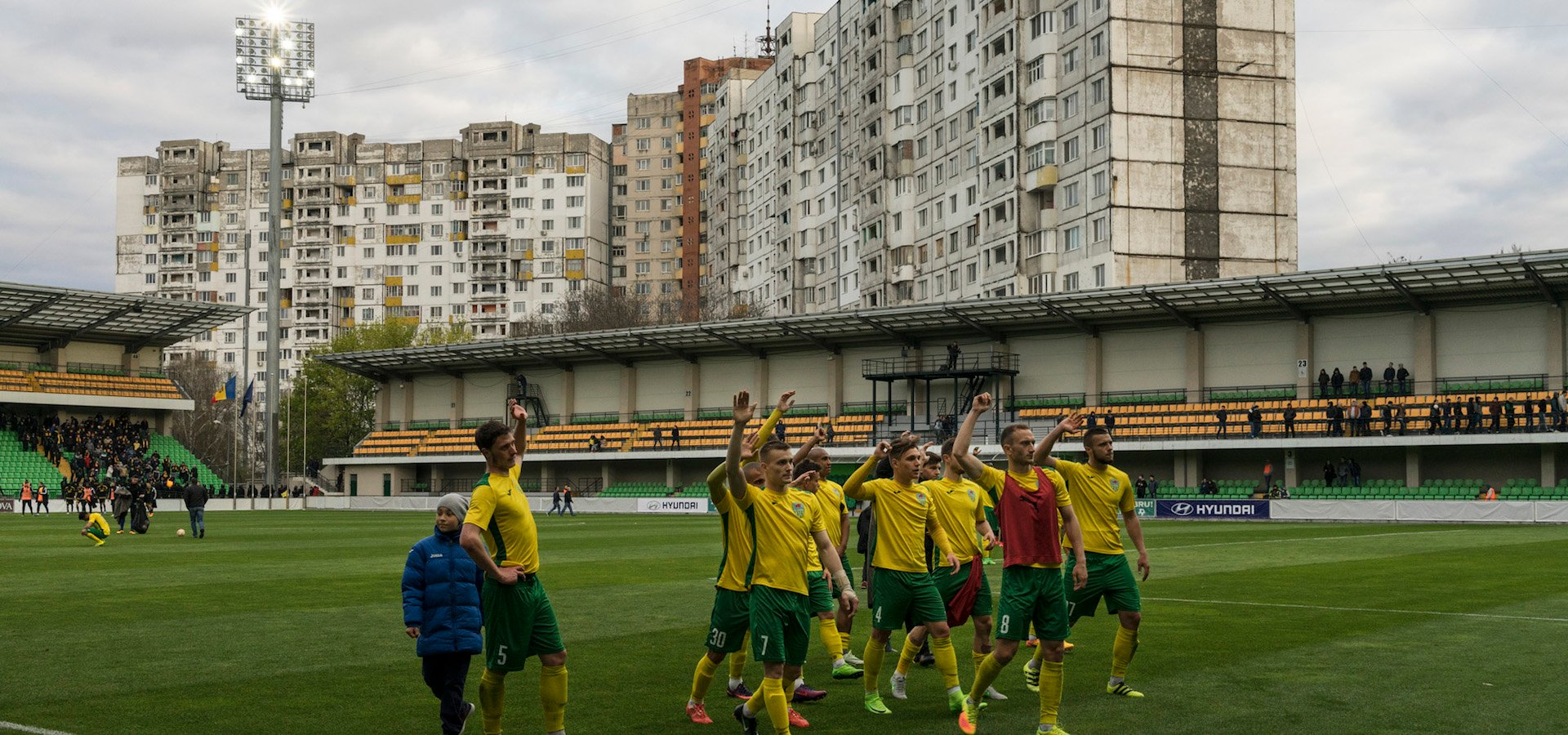 How football brought Moldova and Transnistria together, despite 27 years of frozen conflict