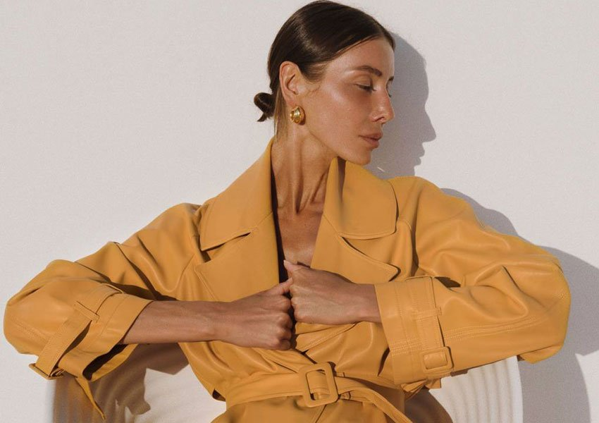 One Ukrainian designer is proving that trench coats aren't just a British staple