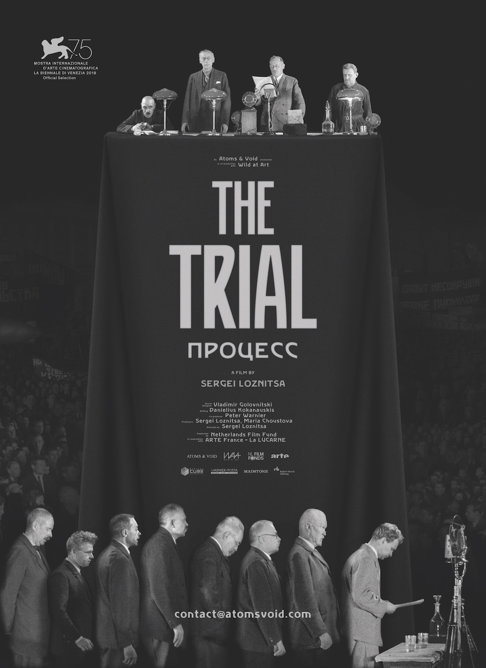 Poster for Sergei Loznitsa's The Trial (2018)