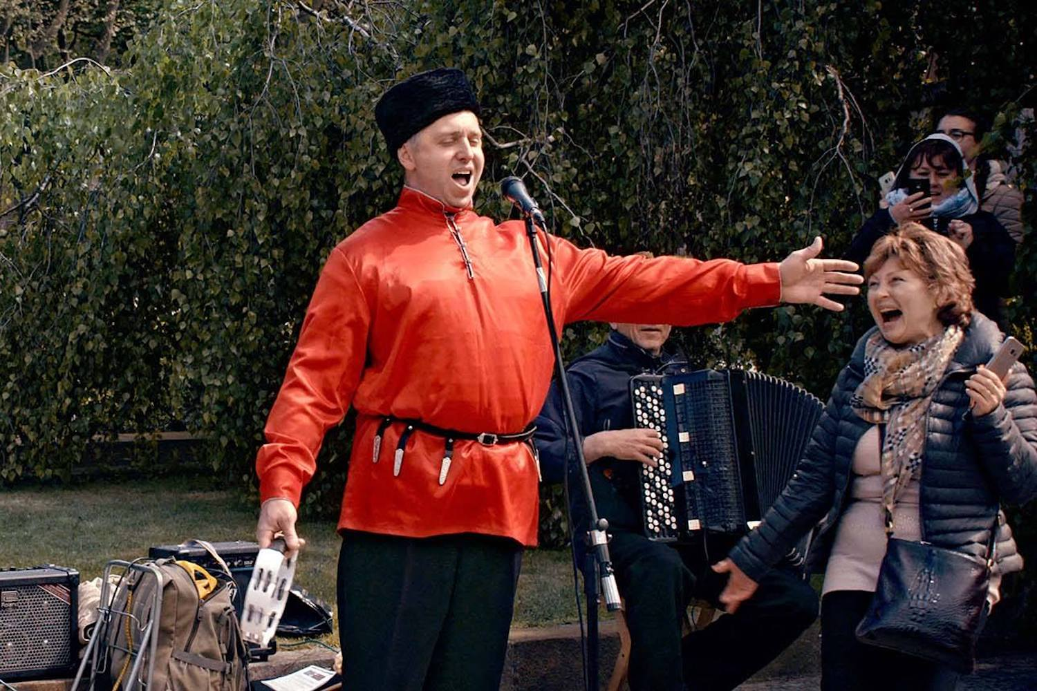 Still from Sergei Loznitsa's Victory Day (2018)