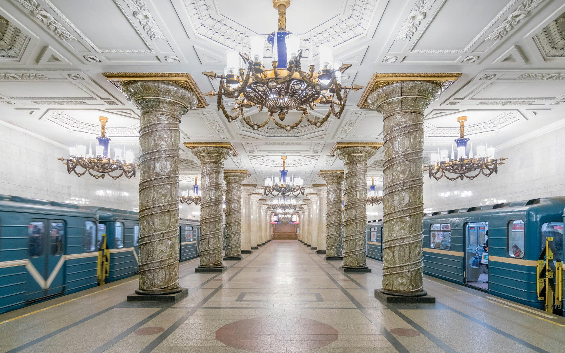 The heavens underground: the Soviet Union's opulent metro stations, from Belarus to Uzbekistan