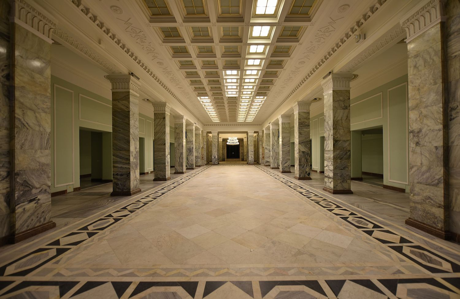 The Marble Hall. Image: Adrian Grycuk under a CC licence