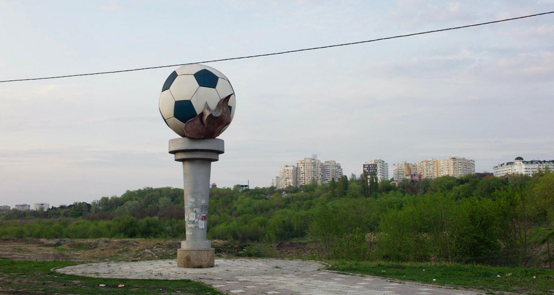 On the road with the football fans bridging Moldova's divided nation