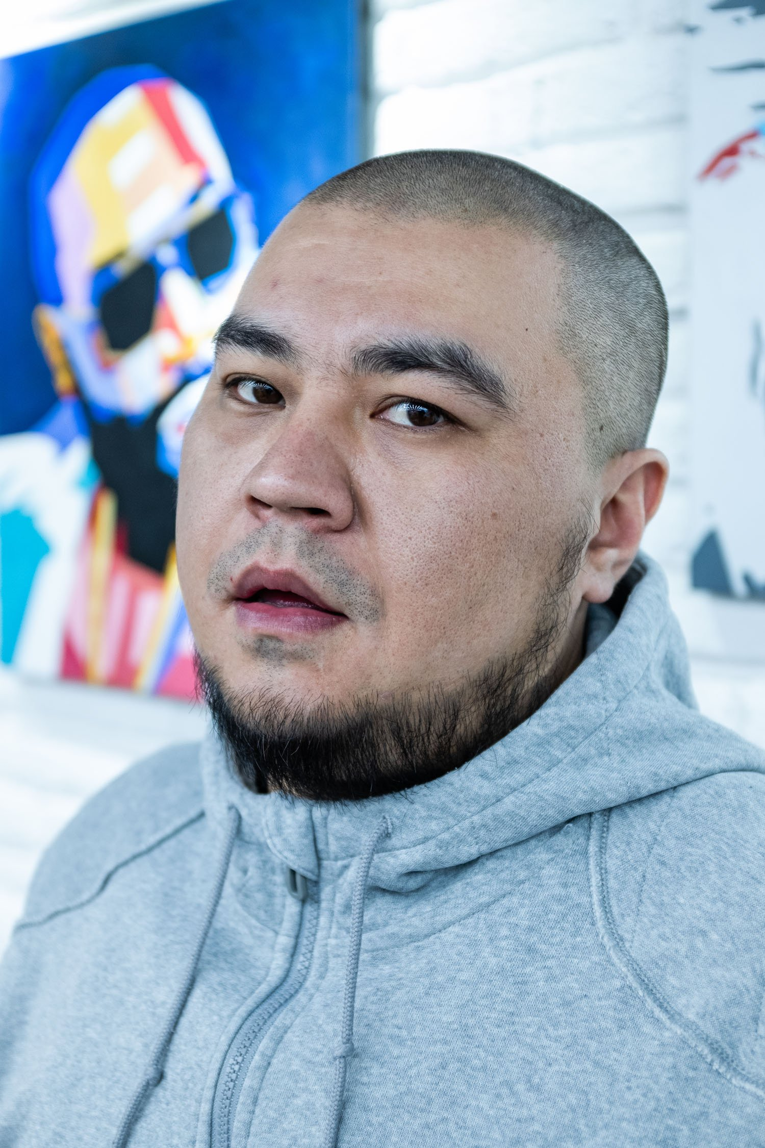 "Rashid Sarbagyshev is one of the ""dinosaurs"" of the Bishkek rap scene"