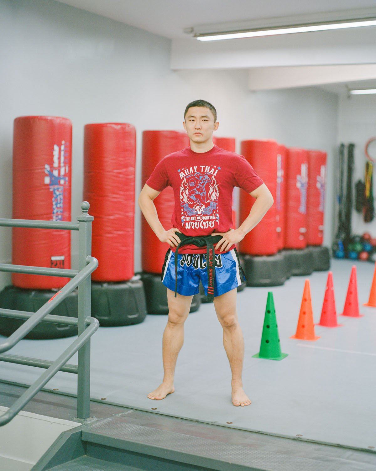 Martial Arts Instructor/Competitor. By way of Russia, Uzbekistan and South Korea