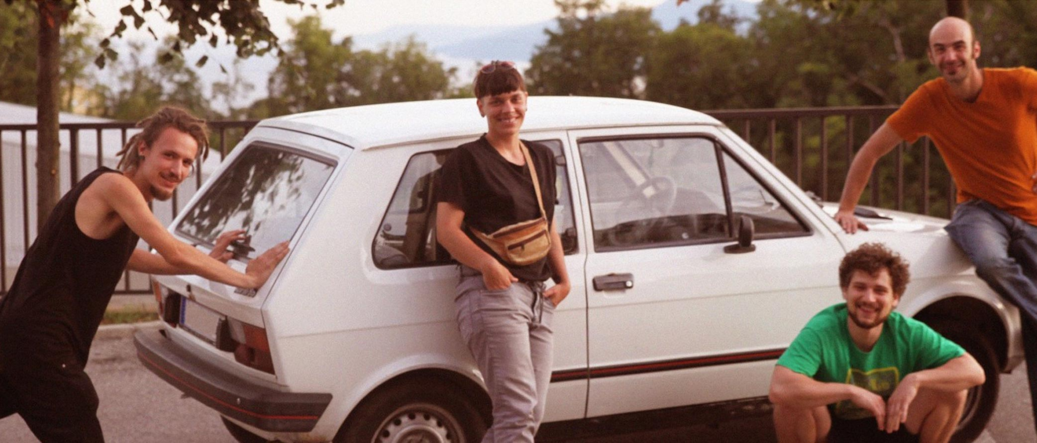 Remember the Yugo? We took the tiny 80s car on a multi-country odyssey from Serbia to New York and beyond