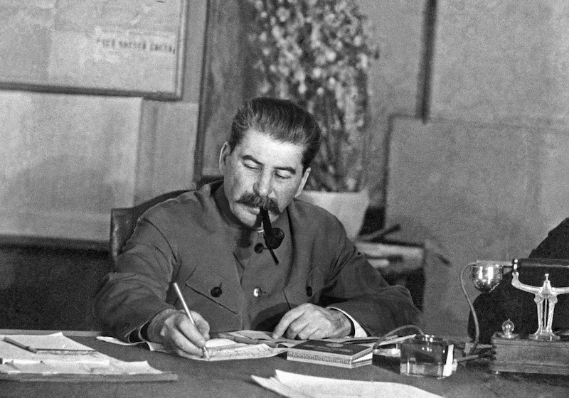It's only a joke, comrade! Why even Stalin couldn't kill the political quip