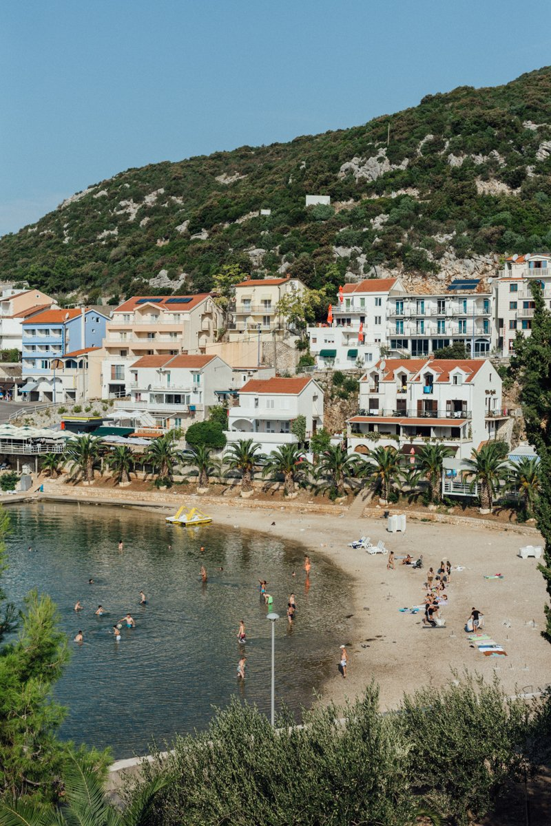 Neum, on the Adriatic coast