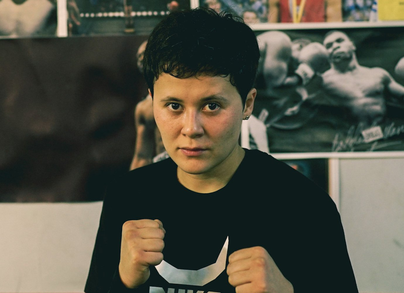 Meet the Kazakh boxing champ mixing self-defence classes with legal help for women