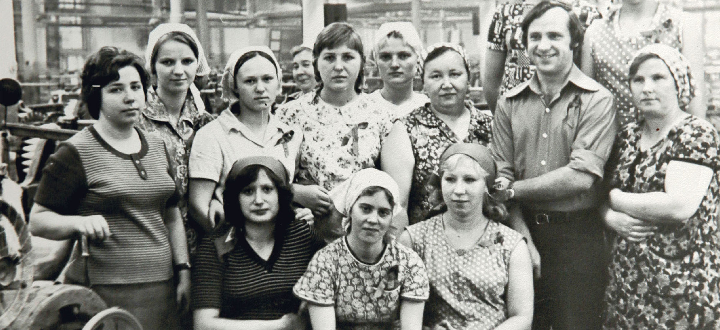 Help unravel the untold stories of sisterhood at a former Soviet textile mill in Estonia