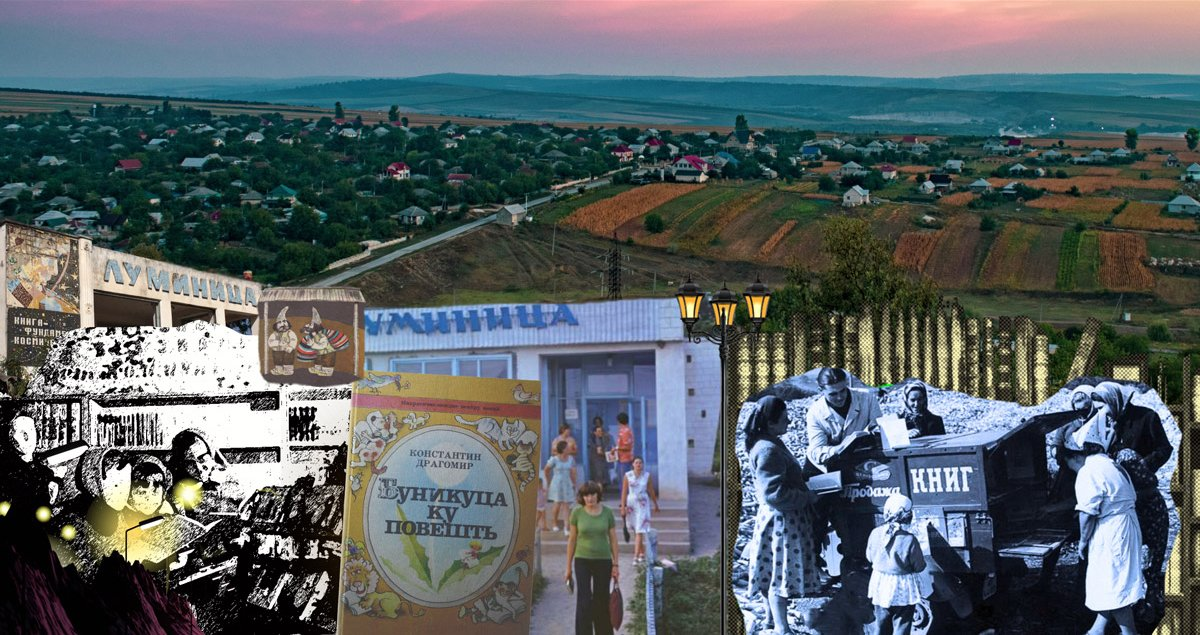 A bookshop in every village: how the late Soviets animated Moldovan rural life with books