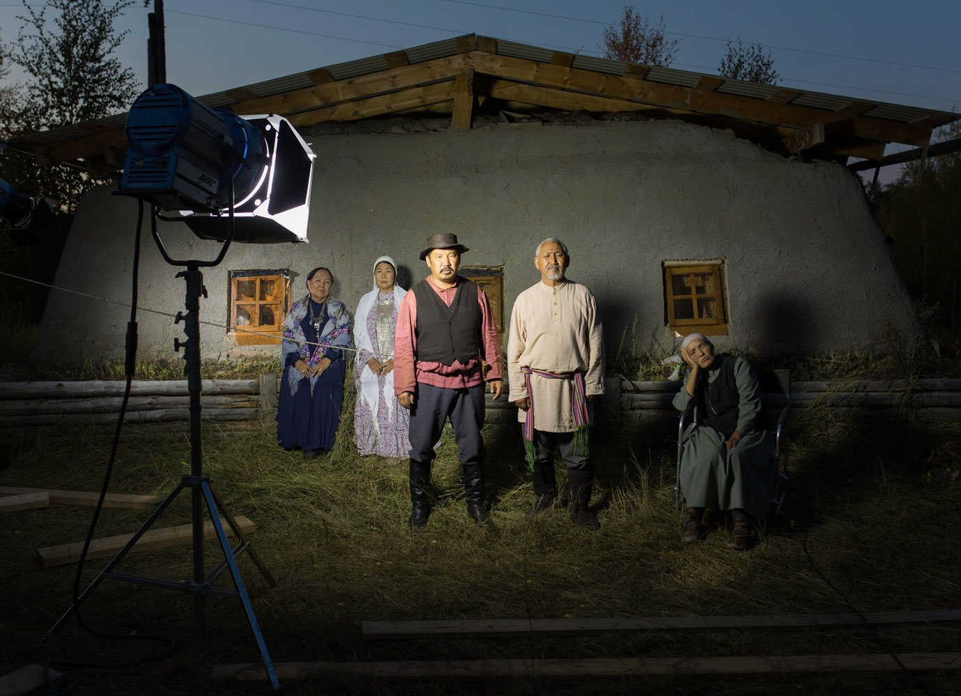 In Yakutia, movie-making is big business. Alexey Vasilyev photographs the visionaries behind it
