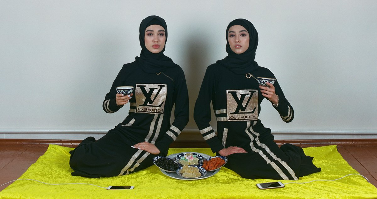Logomania: a photo project explores what's behind Uzbekistan's obsession with Western luxury