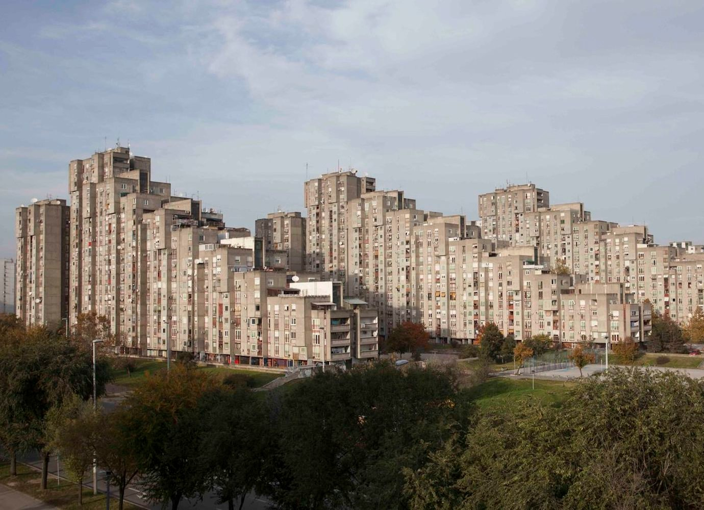 The grit and glory of New Belgrade's communist architecture