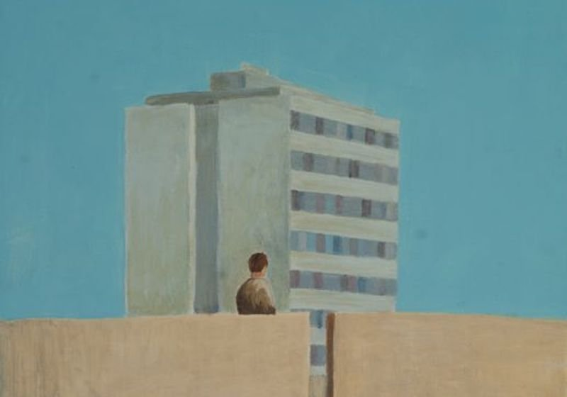 The Kosovan painter capturing Yugoslavia's socialist architecture beyond time and space