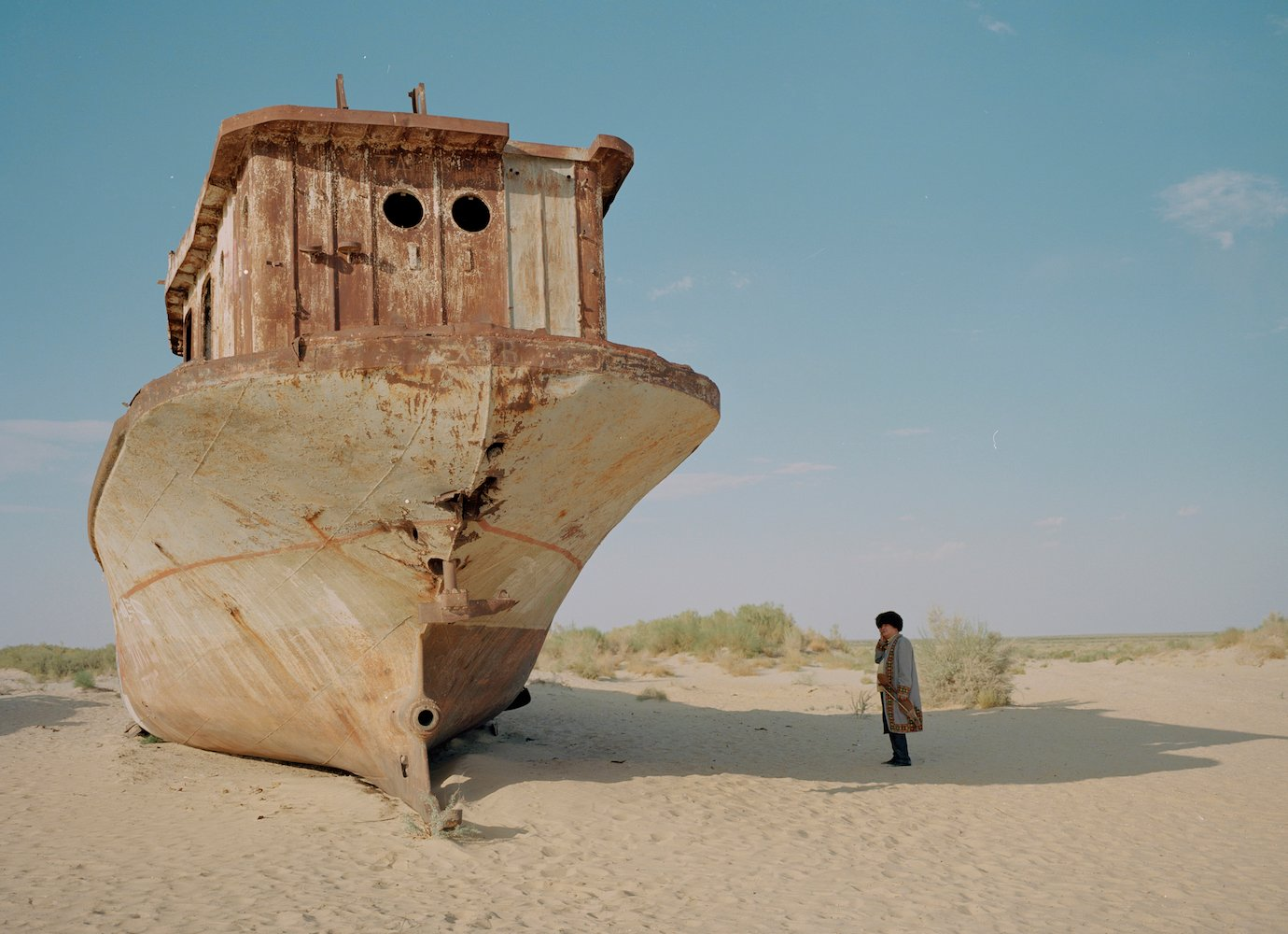 Waiting For The Sea is a documentary finding new perspectives amid the ruins of Uzbekistan's Aral Sea