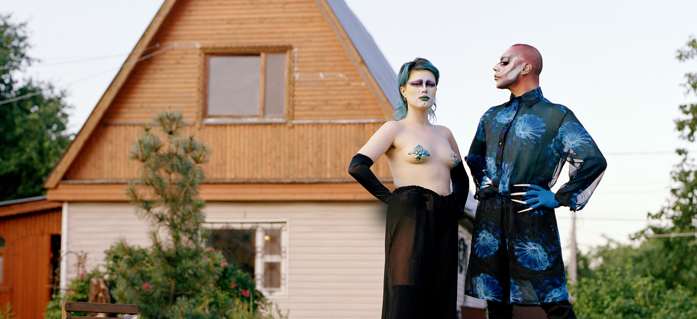 Dragzina: join the queer artists claiming Russia's summer houses as their own