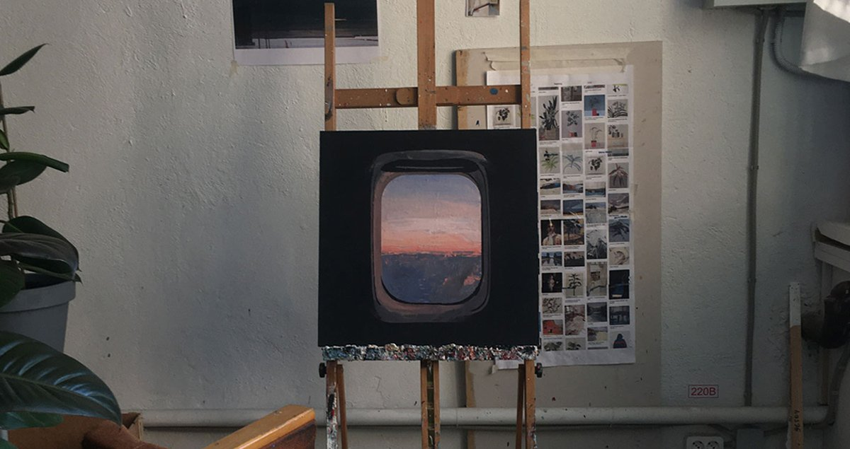 A painter captures the elusive beauty of ordinary life