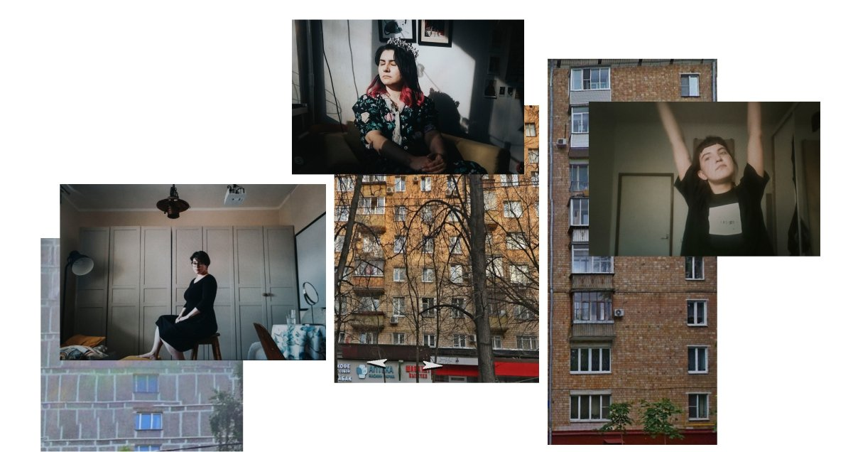 This Skype photo series shows hope still blooms in locked down Moscow